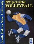 1996 Jackrabbit Volleyball by South Dakota State University