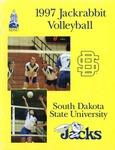 1997 Jackrabbit Volleyball by South Dakota State University