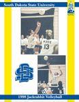 1998 Jackrabbit Volleyball by South Dakota State University