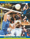 2001 Jackrabbit Volleyball Media Guide