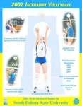 2002 Jackrabbit Volleyball by South Dakota State University