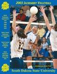 2003 Jackrabbit Volleyball by South Dakota State University