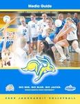 2009 Jackrabbit Volleyball Media Guide by South Dakota State University