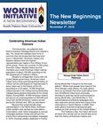 The New Beginnings Newsletter