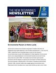 The New Beginnings Newsletter, April 2020