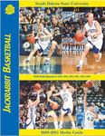 Jackrabbit Women's Basketball 2000-2001 Media Guide by South Dakota State University