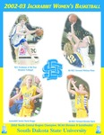 2002-03 Jackrabbit Women's Basketball by South Dakota State University